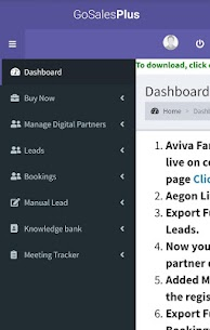 GoSalesPlus- Insurance Partner's App Download For Android 3