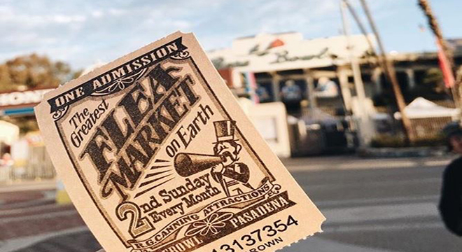 Rose Bowl Flea Market ticket
