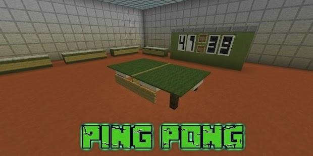 MOD FOR MCPE - PingPong - náhled