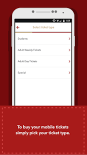 NXBus mTicket- screenshot thumbnail