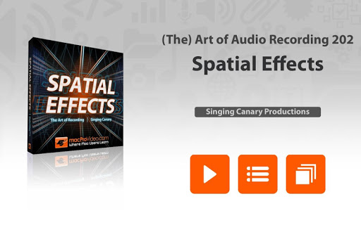 Audio Spatial Effects Course
