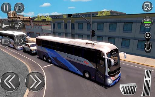 City Coach Bus Driving Sim : Bus Games 2020 screenshots 5
