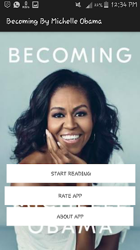 Becoming By Michelle Obama 1.4 screenshots 1