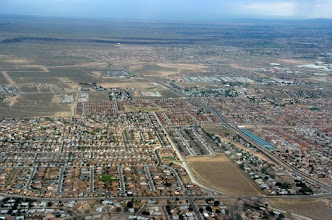 Photo: Albuquerque sprawl...