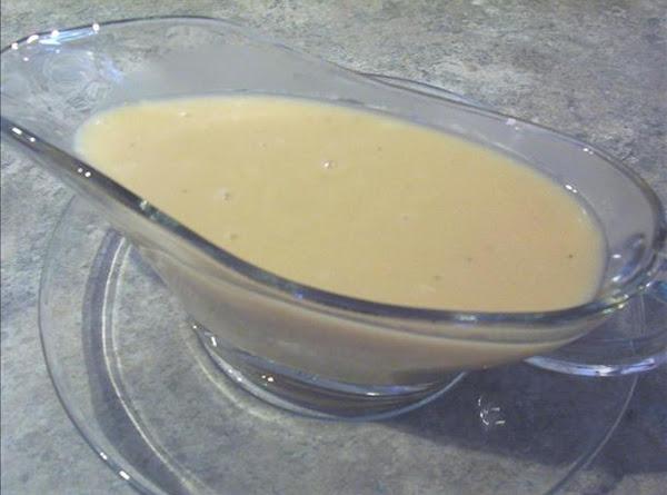 Guilt Free Turkey Gravy Recipe