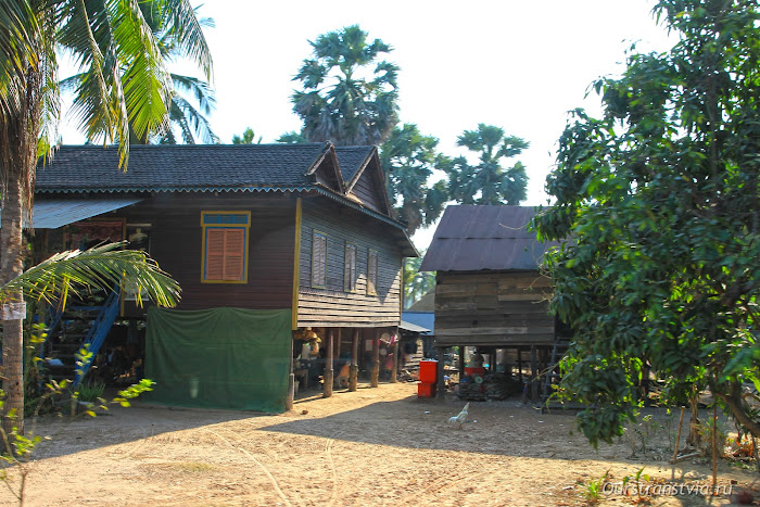 Дома камбоджийцев