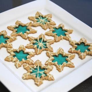 Elsa's Snowflake Cookies.