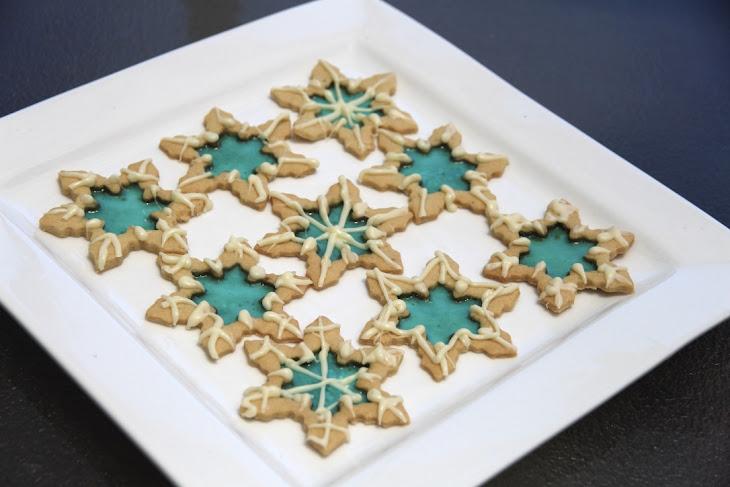 Elsa's Snowflake Cookies