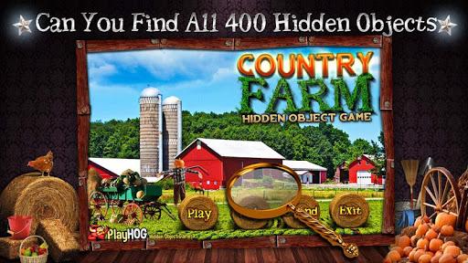 Country Farm Hidden Object