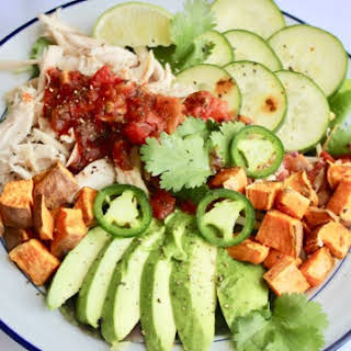 5-Minute Chicken Taco Bowl.