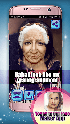 Young to Old Face Maker App 1.0 screenshots 2