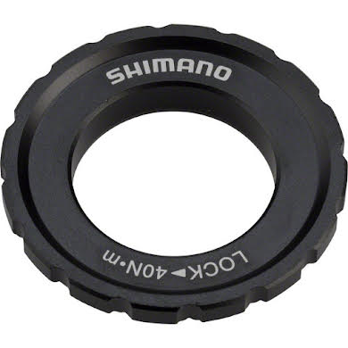 Shimano XT M8010 External Centerlock Disc Rotor Lockring for Thru-Axle Hubs