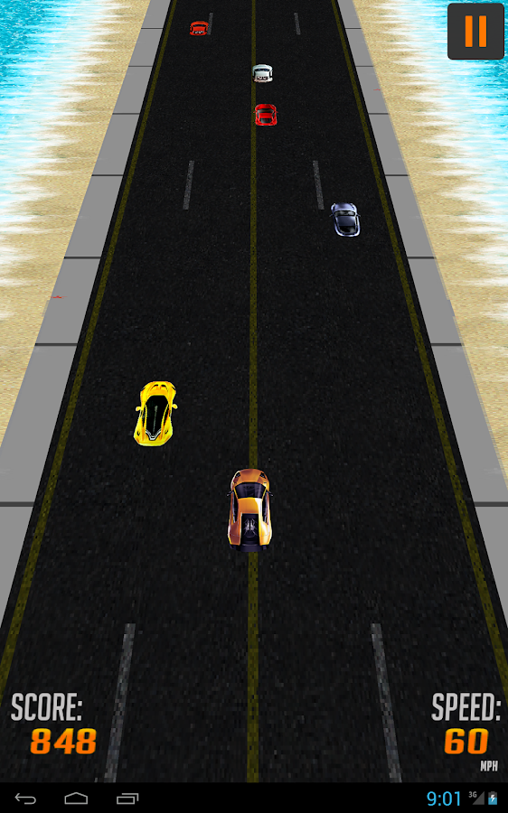 Traffic Rush Car Racing- screenshot