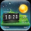 Widget de Tiempo&Reloj Android icon