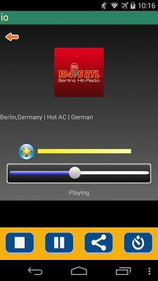Radio Germany - screenshot