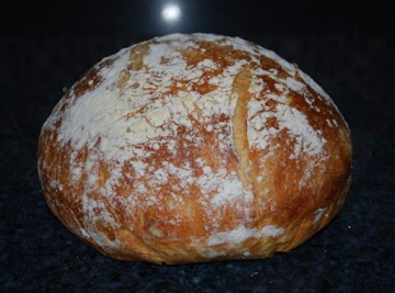 No-knead Dutch Oven Bread Recipe
