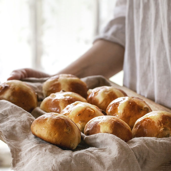 Hot cross buns are rich with history, dating back to the 12th century.