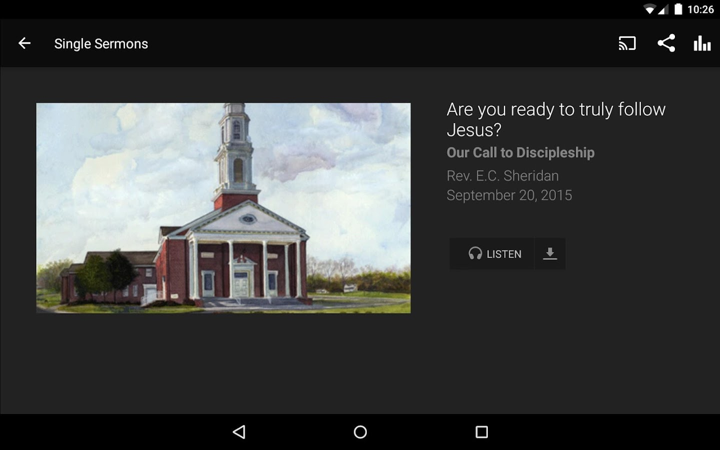 Mount Hermon Baptist Church- screenshot