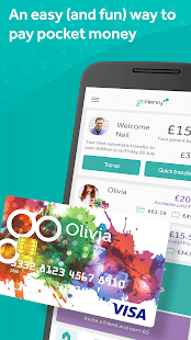 goHenry - the pocket money app for young people- screenshot thumbnail