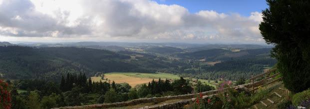 Photo: J26 : Panorama de la Haute-Loire vu de Montarcher
