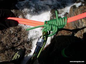 Photo: Machard bidireccional, para autoseguro del rápel