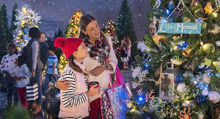 Family Christmas Fun at Disney Springs