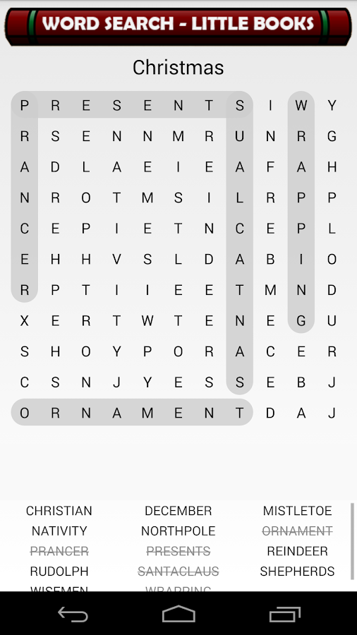 Word Search Little Books (r2)- screenshot