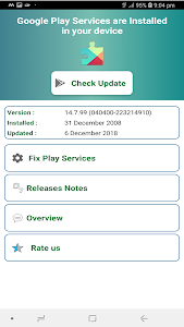 Play Services 2019 - Check update & Fix Play Error 1 3 +