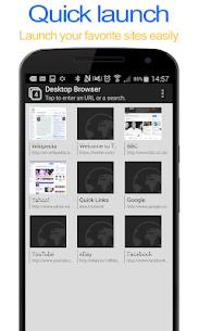 Desktop FullScreen Web Browser Apk  Download For Android 6