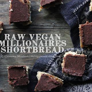 Raw Millionaire's Shortbread {gluten-free, nut-free}