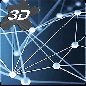 Crystal Particle Plexus 3D Live Wallpaper APK Cracked Download