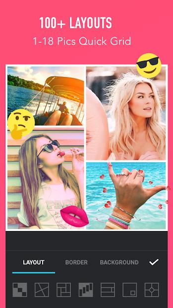 Photo Collage Maker - Photo Editor & Photo Mirror Android App Screenshot