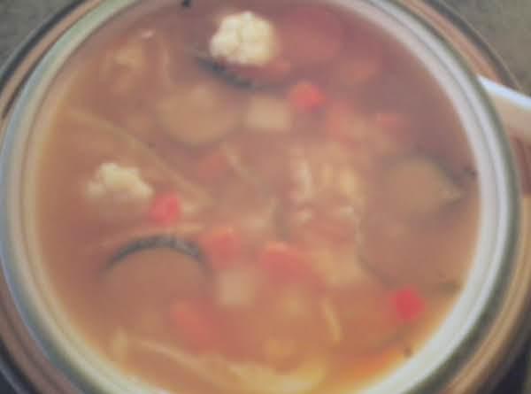 Warming Winter Vegetable Soup Recipe