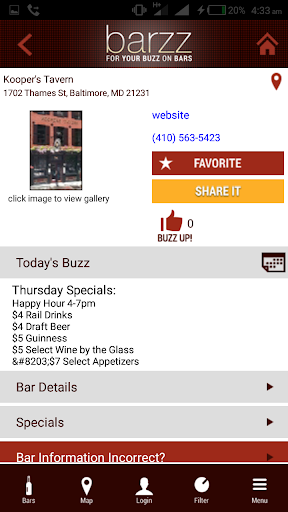 Find Bars Near Me Bar Finder App Find Local Bars Screens7