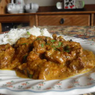 Leftover Lamb Curry.