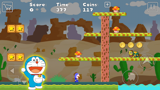 Doraemon World Jungle Adventure Screenshot