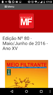REVISTA MEIO FILTRANTE- screenshot thumbnail
