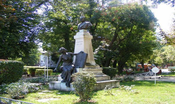 Bucharest Icon's Garden near Anglican Church