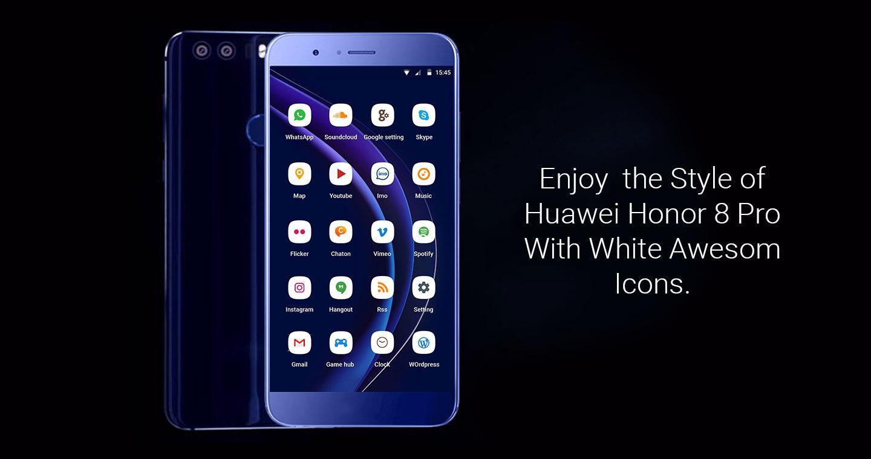 Gmail mobile theme - Theme For Huawei Honor 8 Pro Screenshot