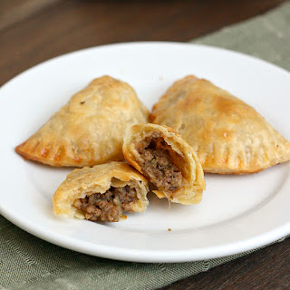 Make-Ahead Mini Beef and Cheese Empanadas.