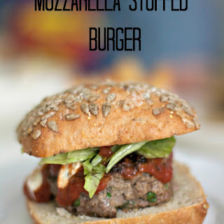 Mozzarella Cheese Burgers Recipes.