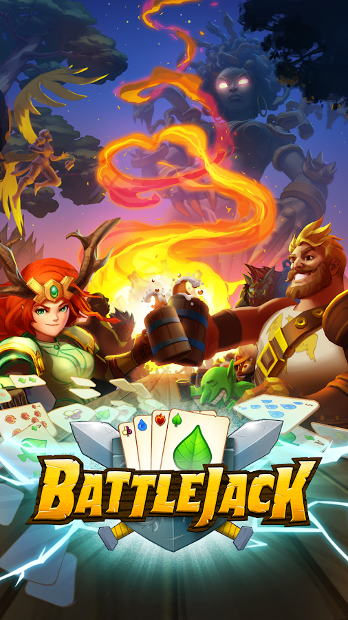 Battlejack: Blackjack RPG- screenshot