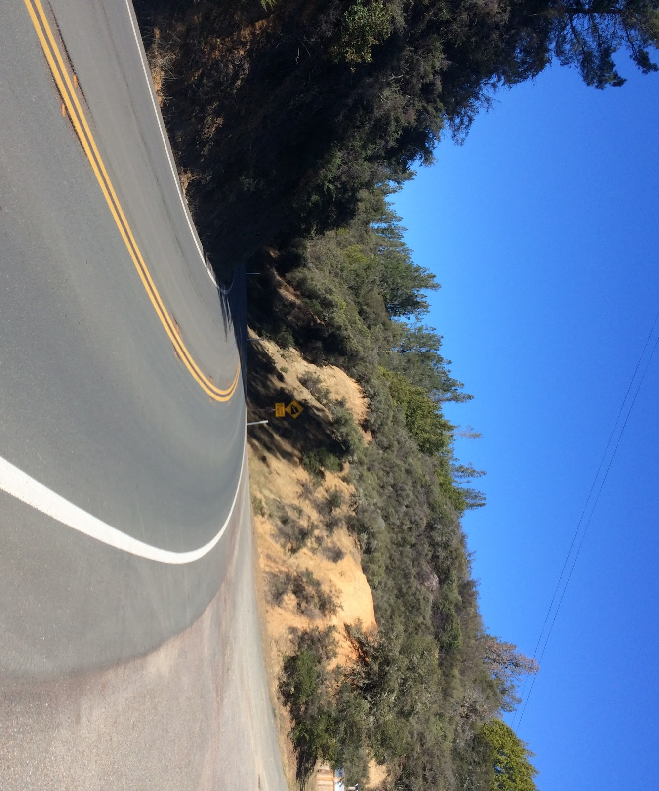 Bike Climb of Hopland Grade - finish and sign