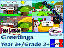 Ks2 French greetings