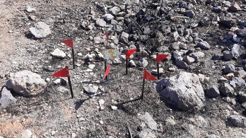 El Infoca ha realizado labores de investigación para determinar la procedencia del fuego. Foto de la cuenta de Twitter del Infoca.