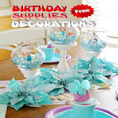 Birthday Supplies Decorations