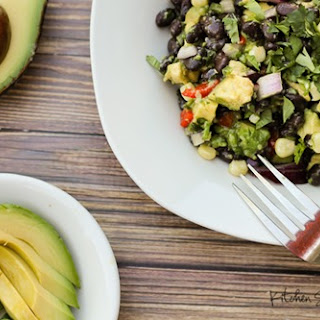 Black Bean and Avocado Starter