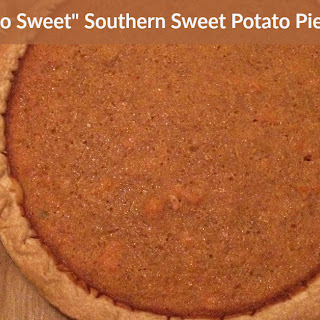 """Not Too Sweet"" Southern Sweet Potato Pie."