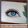 Ideas Art Drawing Eyes APK icon