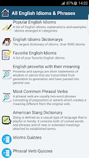 all english idioms phrases android apps on google play all english idioms phrases screenshot thumbnail